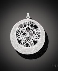 Tesoro Vacone Silver Pendant