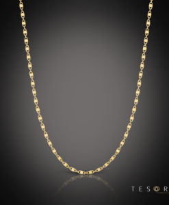 Tesoro Ierzu Yellow Gold Chain 65cm