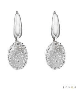Laviano White Gold Dangle Earrings