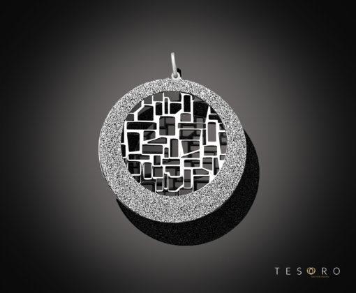 Tesoro Tuscania Silver Pendant