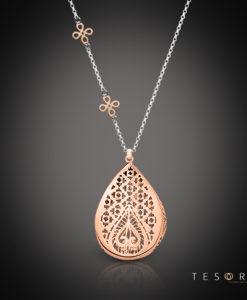 Tesoro Lizzano Silver Necklace