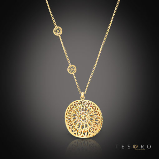 Tesoro Silver Necklace Bagheria