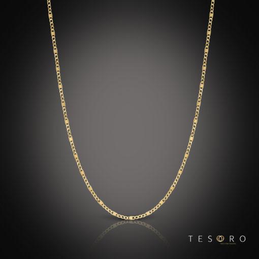 Tesoro Valentino Yellow Gold Chain