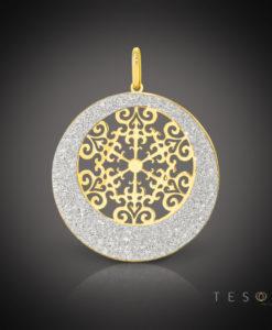 Tesoro Silver Pendant