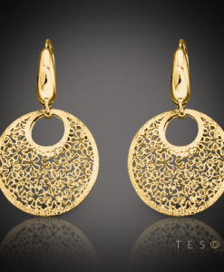 Tesoro GOLD DANGLE EARRINGS