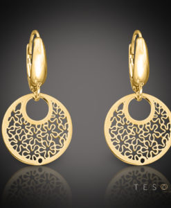 LIMANA Gold Dangle Earrings