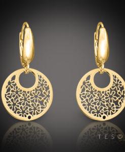 LIMANA Gold Dangle Earrings