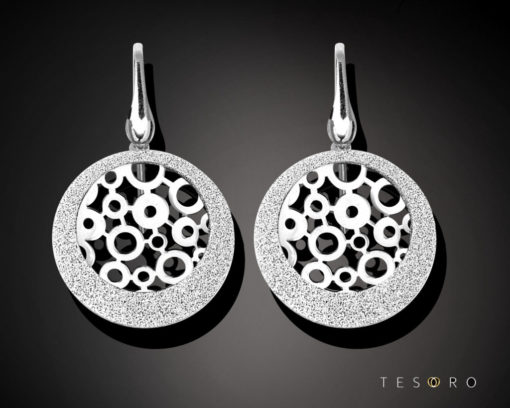 Tesoro Silver Earrings 1260.925E