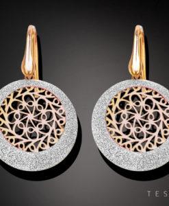 Tesoro Silver Earring 1262.925E