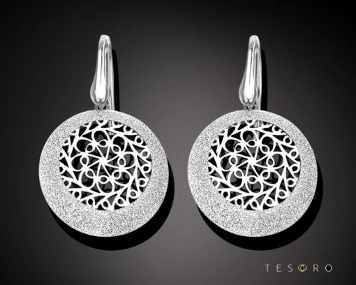 Tesoro Silver Earring 1253.925E