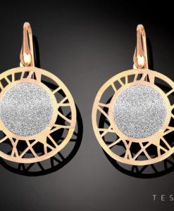 Tesoro Silver Earring 1280.925E