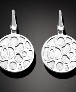 Tesoro Silver Earrings 1291.925E