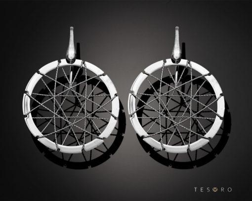 Tesoro Silver Earrings 1236.925E Silver