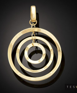 Tesoro Yellow Gold Pendant 1000.9P
