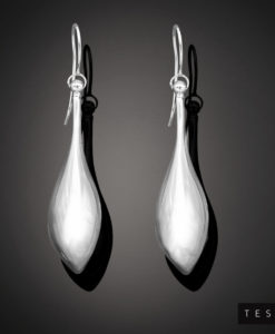 Tesoro White Gold Earrings 1005.9E