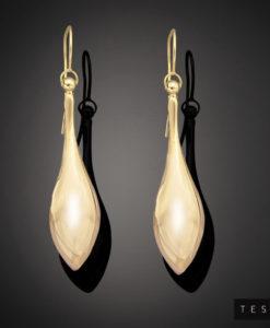 Tesoro Yellow Gold Earring 1006.9E