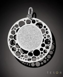 Tesoro Matera Silver Pendant