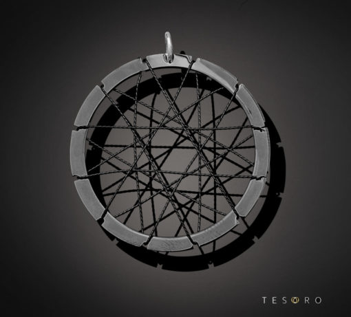 Tesoro Silver Pendant 1240.925P