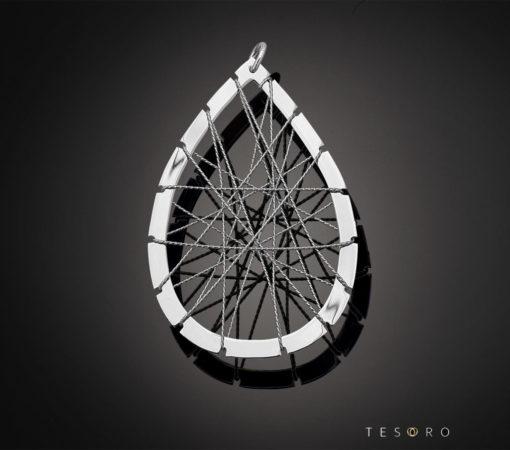 Tesoro Silver Pendant 1237.925P