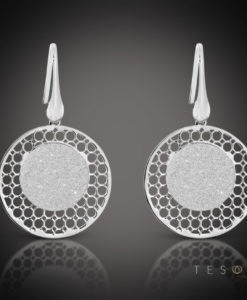 Tesoro Silver Dangle Earring