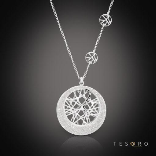 Tesoro Silver Necklace & Pendant