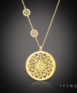 Tesoro Silver Pendant & Necklace