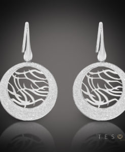 Tesoro Silver Dangle Earrings