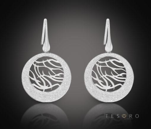 Tesoro Silver Dangle Earrings