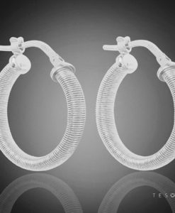 NORMA GOLD HOOP EARRINGS