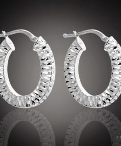 Modena Gold Hoop Earrings