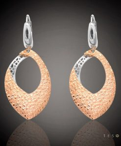 L'AQUILA GOLD DANGLE EARRINGS