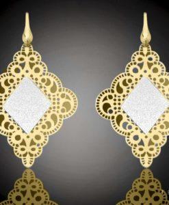 SESTO Silver Dangle Earrings