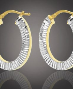 Cuneo Gold Hoop Earrings