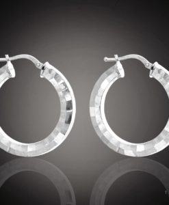 CATANZARO GOLD HOOP EARRINGS