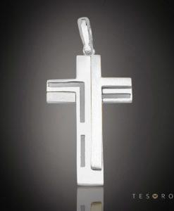 18 Carat ZIBELLO Gold Cross