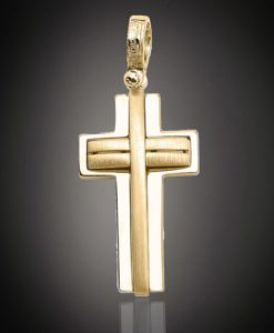 18 Carat ONETA Gold Cross