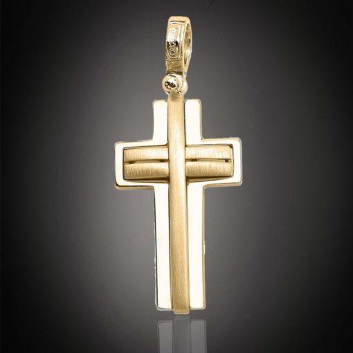 18 Carat ONETA Gold Cross