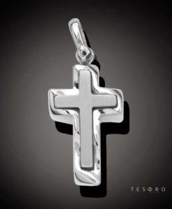 9 Carat BISCEGLIE Gold Cross