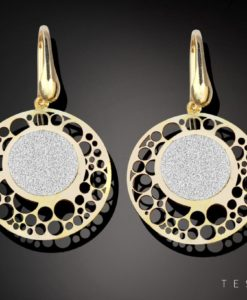 MOLFETTA SILVER DANGLE EARRINGS