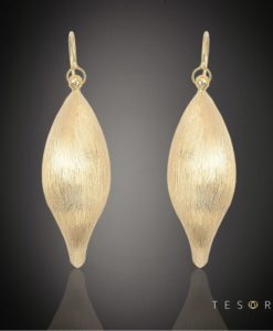 PORLEZZA Gold Dangle Earring