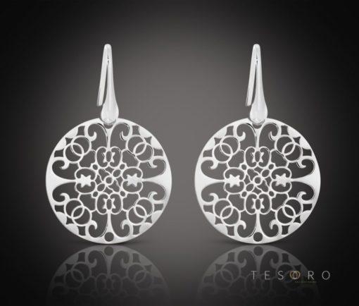 Racco Silver Dangle Earrings