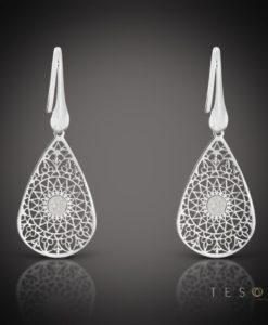 Raccula Silver Dangle Earrings