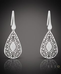 Radico Silver Dangle Earrings