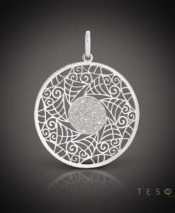 Raffa Silver Pendant