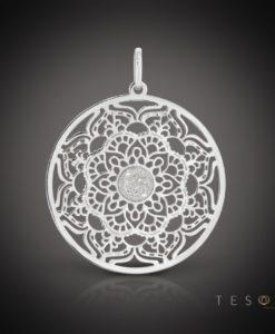 Ragusa Silver Pendant