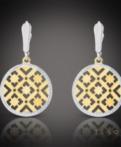 Nanno Gold Dangle Earrings