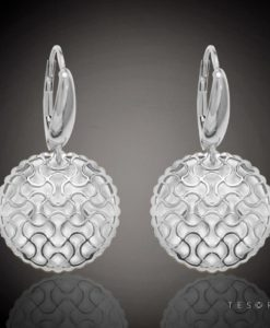 Acerra Gold Dangle Earrings
