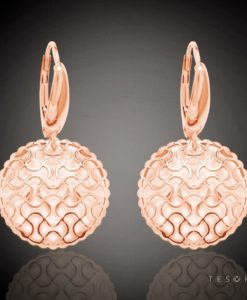 Acerra Gold Dangle Earrings