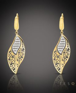 TAMBRE GOLD DANGLE EARRINGS