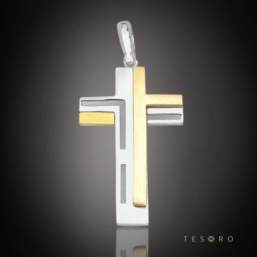 9 Carat DAZIO GOLD CROSS
